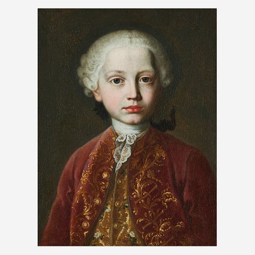 Attributed to Martin van Meytens the Younger (Swedish, 1695–1770), , Portrait of a Child, Possibly from the Habsburg Family, Bust-Le...