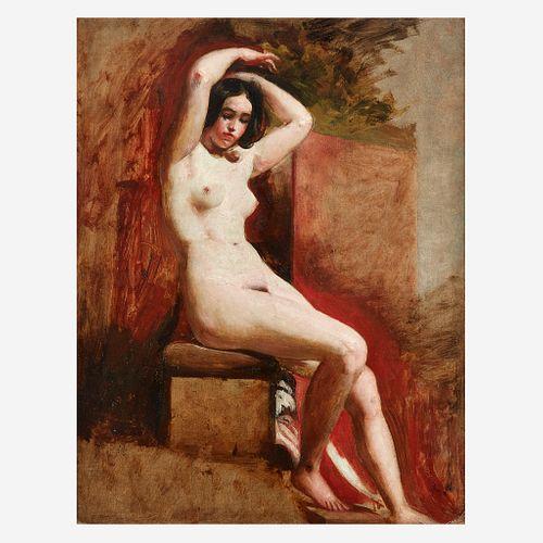 William Etty (British, 1787–1849), , Seated Academic Nude