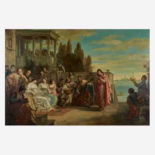 Augusto Wolf (German/Italian, 1842–1915), , The Venetian Festival