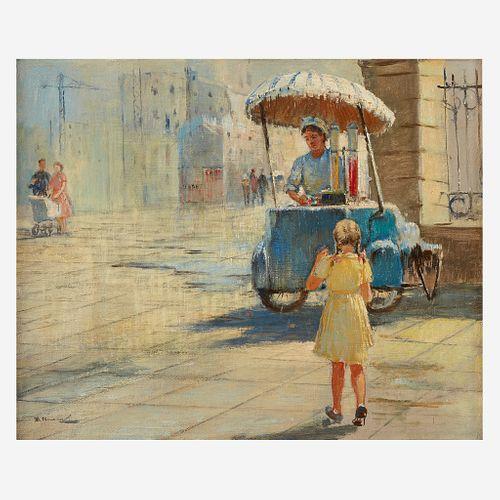 Yuri (Georgiy) Ivanovich Pimenov (Russian, 1903–1977), , The Lemonade Stand