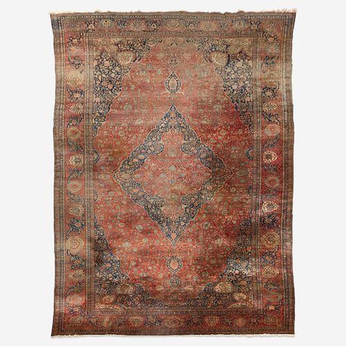 A 'Mohtashem' Kashan carpet, Circa late 19th century