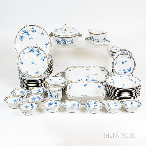 Rosenthal Porcelain Blue and White Luncheon Service