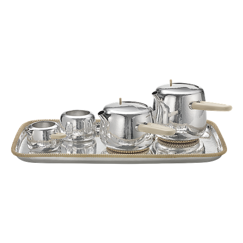 Limited Edition 7/10 Georg Jensen Sterling Silver Marc Newson Tea Set #1500