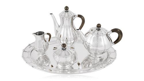 Rare Vintage Georg Jensen Tea Service #353 by Johan Rohde
