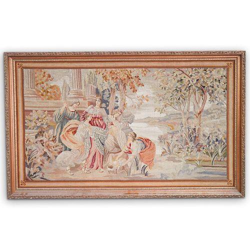Antique Framed Tapestry