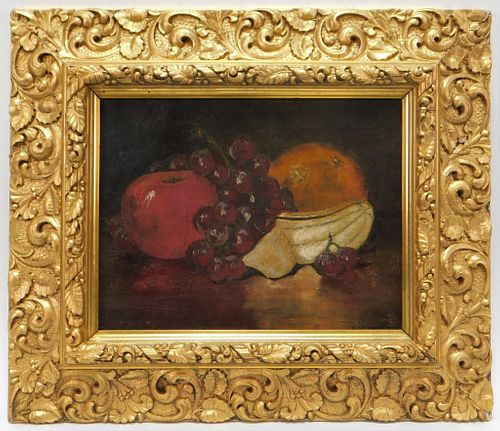 George Whitaker Still Life Fruit Painting