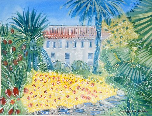 "Alan Halliday: ""Gardens at the Al Minza"""