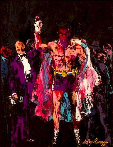 LeRoy Neiman  'Tribute to an American Heavyweight Champion'