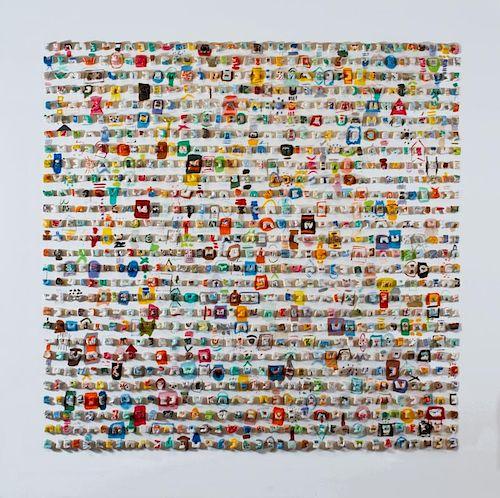 Ida Kohlmeyer  'Boogie Woogie with Apologies to Mondrian #1'