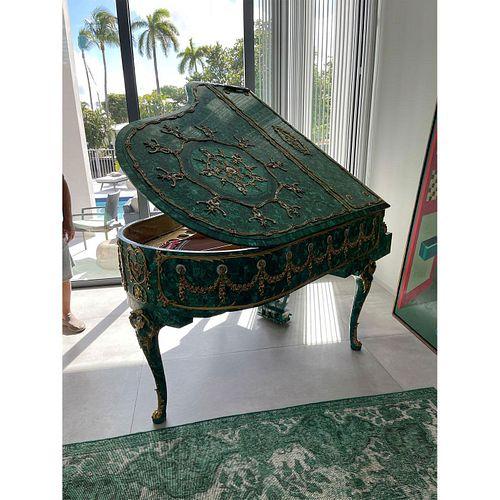 Steinway & Sons Malachite Veneered Grand Piano