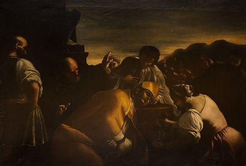 Scuola napoletana, secolo XVII - Beheading of San Gennaro