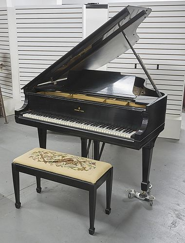 1922 Parlor Grand Steinway Piano