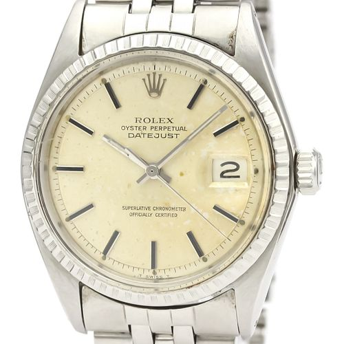 ROLEX Datejust 1603 Stainless Steel Automatic Mens Watch