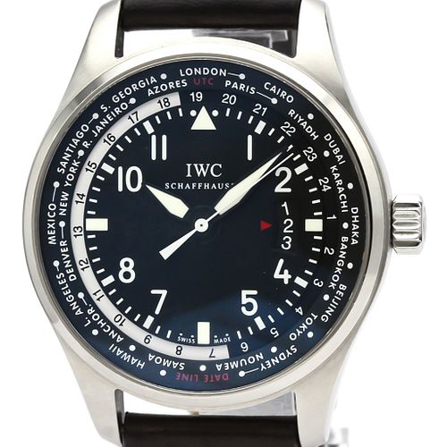 IWC Pilot Watch Automatic Stainless Steel Men's Sports Watch IW326201
