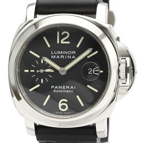 Officine Panerai Luminor Automatic Stainless Steel Men's Sports Watch PAM00104