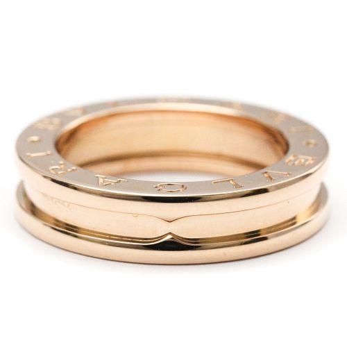 Bvlgari B.zero1 Pink Gold (18K) Band Ring
