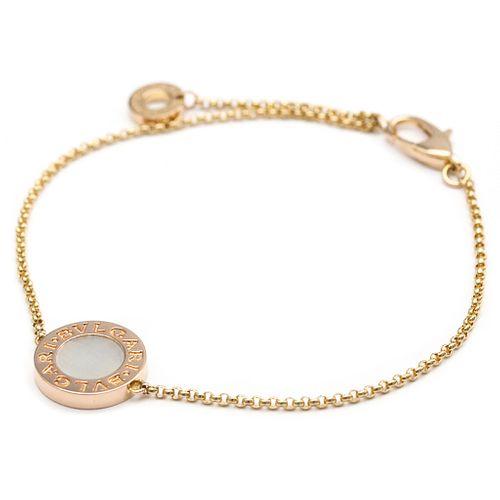 Bvlgari Bvlgari Bvlgari BR857192 Pink Gold (18K) Charm Bracelet