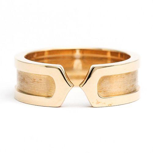 Cartier C2 Pink Gold (18K) Ring