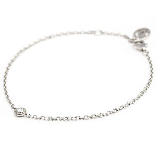Cartier Diamants Legers De Cartier B6037200 White Gold (18K) Diamond Charm Bracelet Carat/0.09