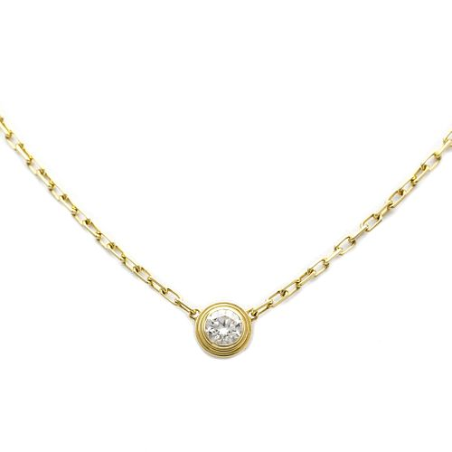 Cartier Diamants Legers De Cartier B7215800 Yellow Gold (18K) Diamond Women's Pendant Necklace Carat/0.09
