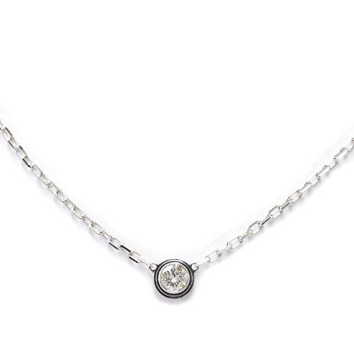 Cartier Diamants Legers De Cartier B7215900 White Gold (18K) Diamond Women's Pendant Necklace Carat/0.09