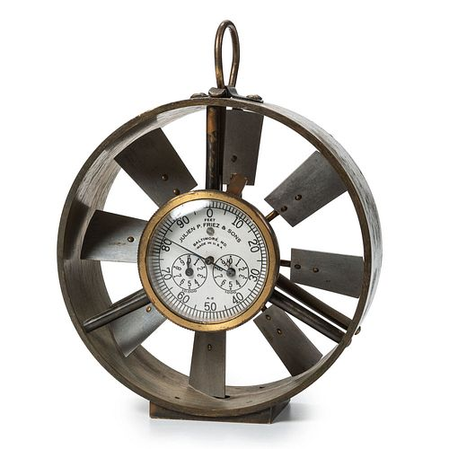 Julien P. Friez & Sons Brass Anemometer, Model A.2.