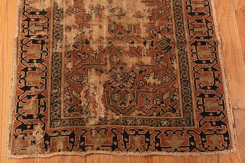 ANTIQUE PERSIAN MALAYER RUG + ANTIQUE PERSIAN NORTHWEST