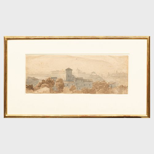 Nicolas-Didier Boguet (1755-1839): The Quirinal, Rome