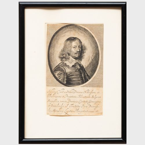 European School: Portrait of Adrianus Clant