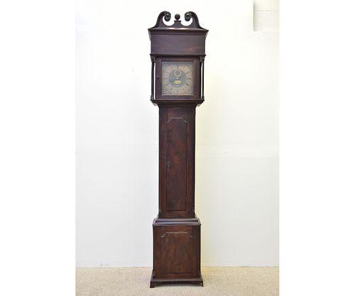 Peter Stretch Walnut Cased Tall Case Clock