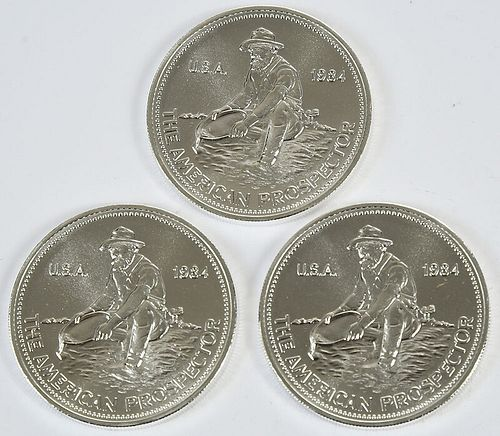 725 One Ounce Silver Rounds