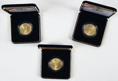 Ten First in Flight $10 Gold Coins