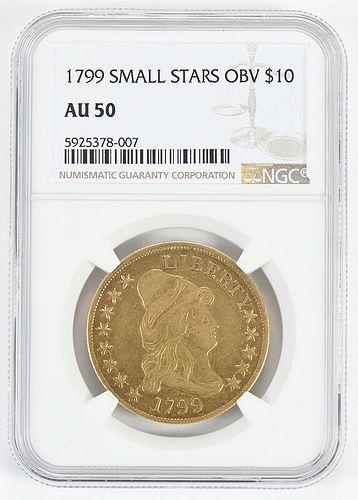 1799 $10 Gold Coin