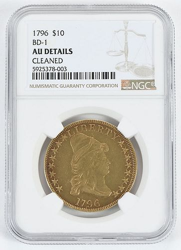 1796 $10 Gold Coin