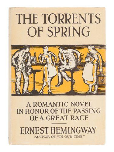HEMINGWAY, Ernest (1899-1961). The Torrents of Spring. New York: Scribner's, 1926.