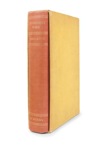 JOYCE, James (1882-1941). Finnegans Wake. London: Faber, 1939.