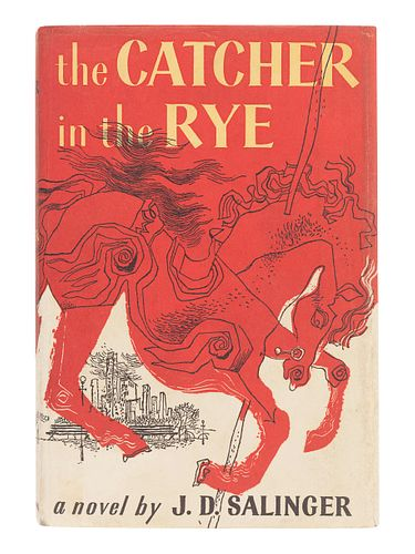 SALINGER, J. D. (1919-2010). The Catcher in the Rye. Boston: Little, Brown and Company, 1951.