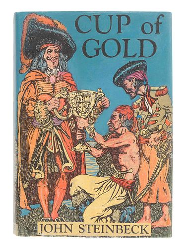 STEINBECK, John (1902-1968). Cup of Gold. New York: McBride, 1929.