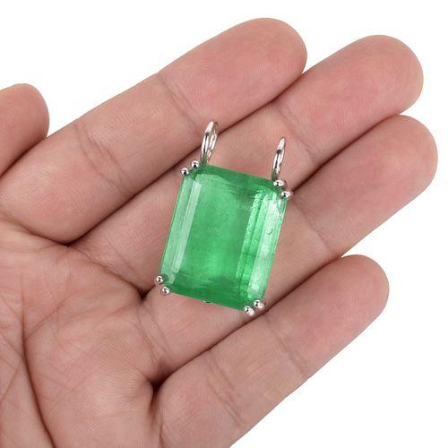 40.0ct Colombian Emerald Pendant