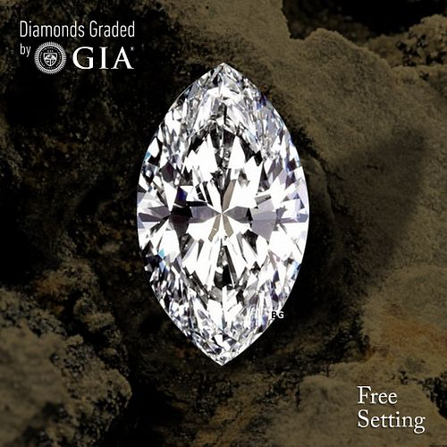 7.68 ct, D/IF, TYPE IIA Marquise cut Diamond. Unmounted. Appraised Value: $1,843,200