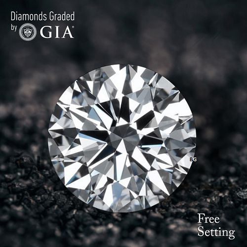 5.31 ct, F/IF, Round cut Diamond. Unmounted. Appraised Value: $1,007,500