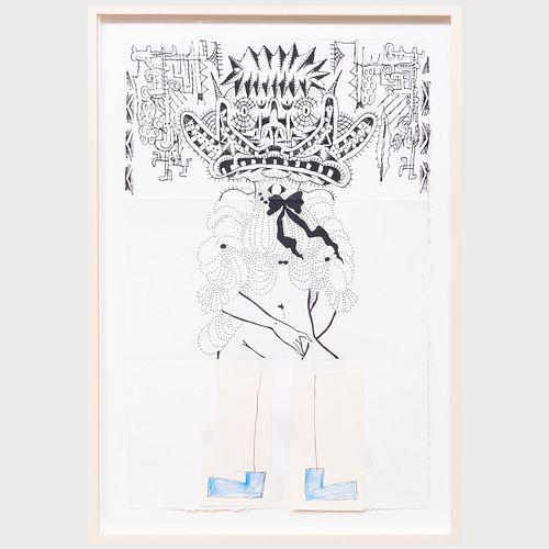 Gary Panter (b. 1950), Steven Evans (b. 1955) and Michael Jenkins (b. 1957): Untitled