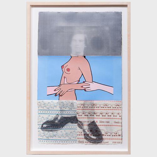 Bill Barette (b. 1947), John Wesley (b. 1928) and Rainer Gross (b. 1951): Untitled