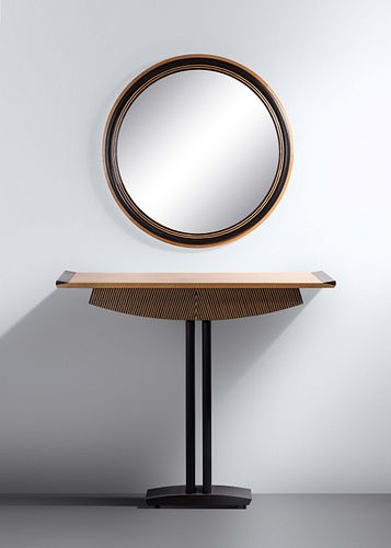 Wendy Stayman (b. 1946) Zebra Table and Mirror, 1992
