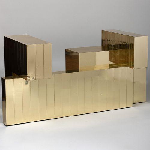 Paul Evans Brass Cityscape Table Base