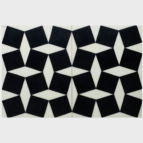David Ortins (b. 1957): Tilted Squares