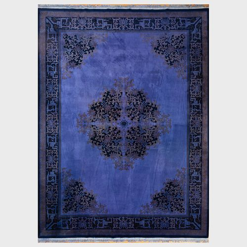 Chinese Inspired Deco Style Carpet