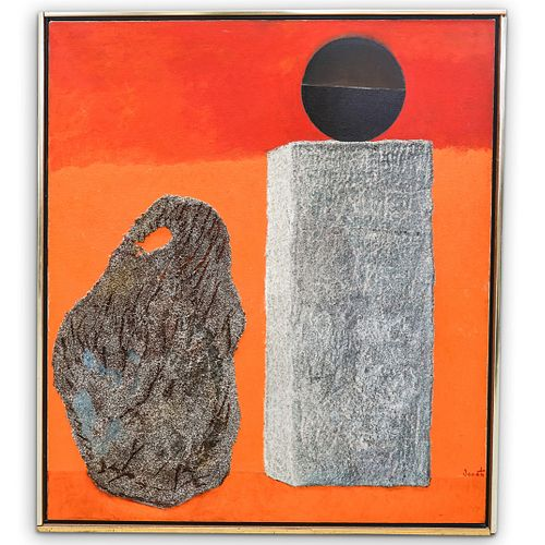 Enrico Donati (Italian-American, 1909-2008) Mixed Media Painting