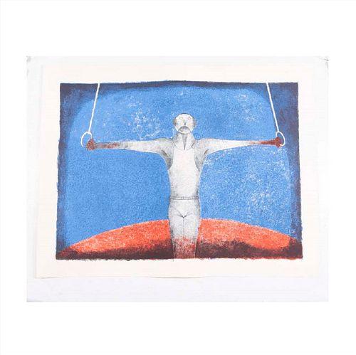 LOTE CON PRECIOS DE RECUPERACIÓN. RUFINO TAMAYO Cruz de hierro, El Gimnasta, 1988 Sin firma Litografía 50 / 300.