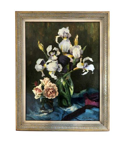 Wenzel Wendlberger (1882-1945), Still Life, O/C